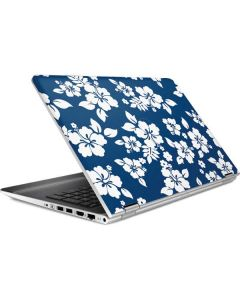 Blue and White HP Pavilion Skin