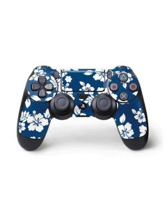 Blue and White PS4 Pro/Slim Controller Skin