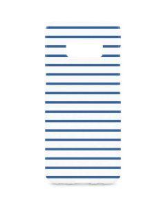 Blue and White Stripes Galaxy S8 Plus Lite Case