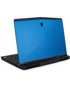 Blue Carbon Fiber Dell Alienware Skin