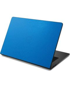 Blue Carbon Fiber Dell Chromebook Skin