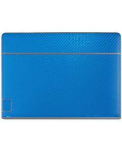 Blue Carbon Fiber Galaxy Book Keyboard Folio 10.6in Skin