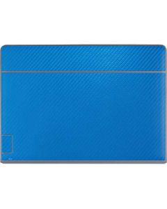 Blue Carbon Fiber Galaxy Book Keyboard Folio 12in Skin