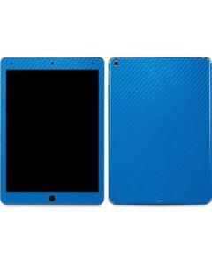 Blue Carbon Fiber Apple iPad Air Skin