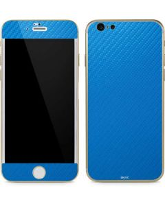 Blue Carbon Fiber iPhone 6/6s Skin