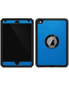 Blue Carbon Fiber Otterbox Defender iPad Skin