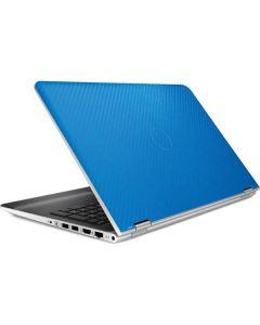 Blue Carbon Fiber HP Pavilion Skin