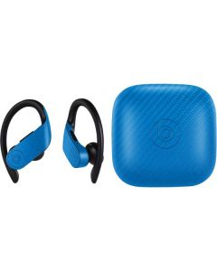 Blue Carbon Fiber PowerBeats Pro Skin
