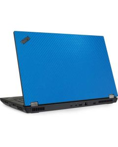 Blue Carbon Fiber Lenovo ThinkPad Skin