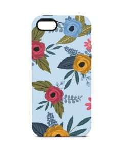 Blue Fall Flowers iPhone 5/5s/SE Pro Case