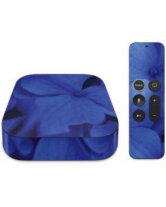 Blue Hydrangea Flowers Apple TV Skin
