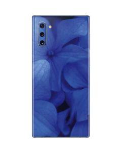 Blue Hydrangea Flowers Galaxy Note 10 Skin