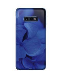 Blue Hydrangea Flowers Galaxy S10e Skin