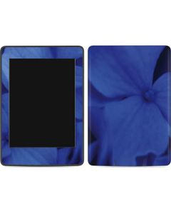 Blue Hydrangea Flowers Amazon Kindle Skin