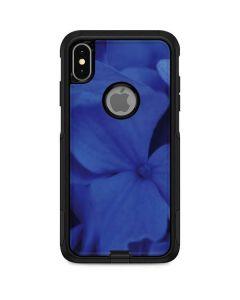 Blue Hydrangea Flowers Otterbox Commuter iPhone Skin