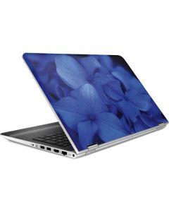 Blue Hydrangea Flowers HP Pavilion Skin