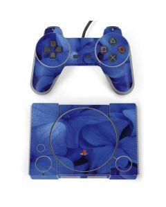 Blue Hydrangea Flowers PlayStation Classic Bundle Skin