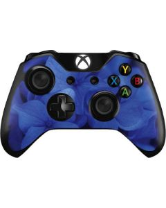Blue Hydrangea Flowers Xbox One Controller Skin