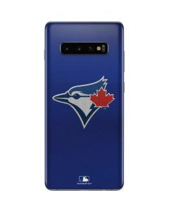 Blue Jays Embroidery Galaxy S10 Plus Skin