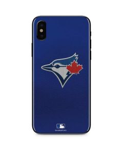 Blue Jays Embroidery iPhone XS Max Skin