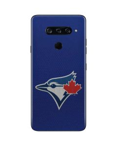 Blue Jays Embroidery LG V40 ThinQ Skin