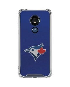 Blue Jays Embroidery Moto G7 Power Clear Case