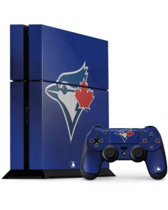 Blue Jays Embroidery PS4 Console and Controller Bundle Skin
