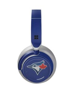 Blue Jays Embroidery Surface Headphones Skin