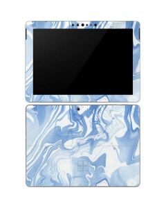 Blue Marbling Surface Go Skin