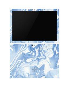 Blue Marbling Surface Pro 6 Skin