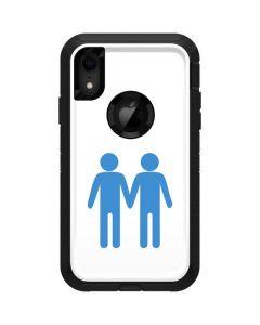 Blue Pride Otterbox Defender iPhone Skin