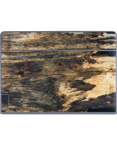 Blue Resin Wood Galaxy Book Keyboard Folio 12in Skin