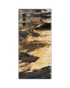 Blue Resin Wood Galaxy Note 10 Skin