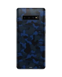 Blue Street Camo Galaxy S10 Plus Skin