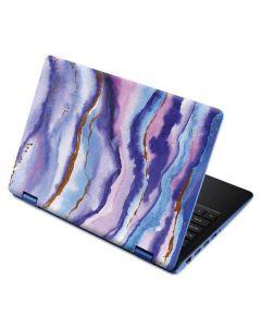 Blue Violet Watercolor Geode Aspire R11 11.6in Skin