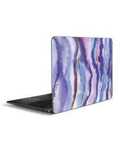 Blue Violet Watercolor Geode Zenbook UX305FA 13.3in Skin
