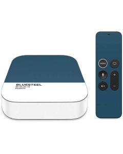Bluesteel Apple TV Skin