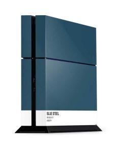 Bluesteel PS4 Console Skin