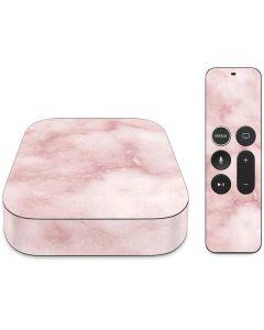 Blush Marble Apple TV Skin