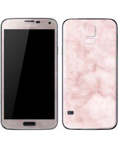 Blush Marble Galaxy S5 Skin