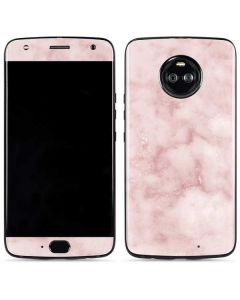 Blush Marble Moto X4 Skin