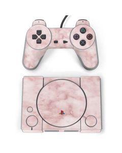 Blush Marble PlayStation Classic Bundle Skin