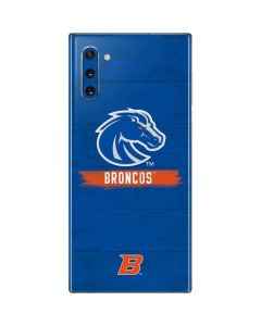 Boise State Broncos Galaxy Note 10 Skin