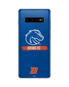 Boise State Broncos Galaxy S10 Plus Skin