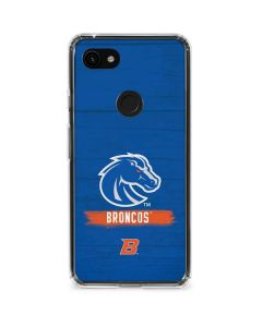 Boise State Broncos Google Pixel 3a Clear Case