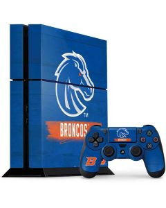 Boise State Broncos PS4 Console and Controller Bundle Skin