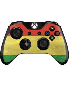 Bolivia Flag Distressed Xbox One Controller Skin