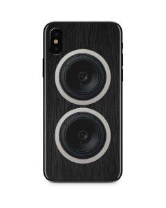 Boom Box Speakers iPhone XS Max Skin