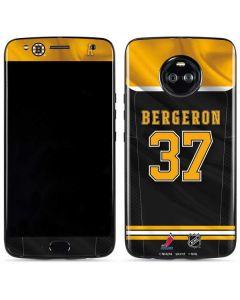 Boston Bruins #37 Patrice Bergeron Moto X4 Skin