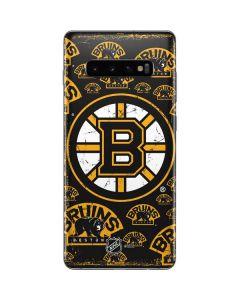 Boston Bruins Blast Galaxy S10 Plus Skin